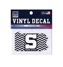 Penn State 3 Chevron Pa State Decal Souvenirs Car Accessories Decals