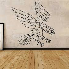 Removable Eagle Self Adhesive Vinyl Waterproof Wall Decal Removable Vinyl Mural Wallpaper Pvc Wall Decals Wall Stickers Aliexpress
