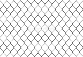 Seamless Metal Chain Link Fence Wire Vector Fence Pattern Texture Background Stock Vector Illustration Of Flat Jail 167584124