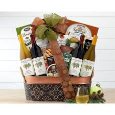 california holiday wine gift baskets