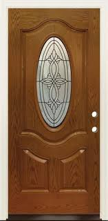 prefinished woodgrain fiberglass oval