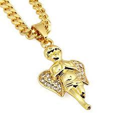 angel pendant necklace hip hop jewelry