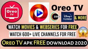 Oreo Tv: Watch Live Movies and Online TV Streaming