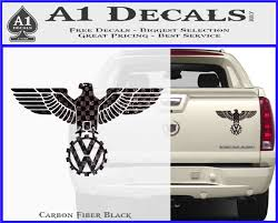 Vw Volkswagen Wwii German Eagle D2 Decal Sticker A1 Decals