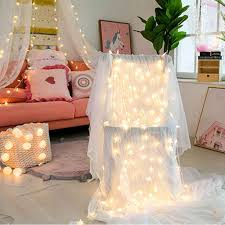 Led Twinkle Star Warm White String Lights With Battery Operated Indoor Outdoor Fairy String Lights For Kids Room Bedroom Wall Led String Aliexpress