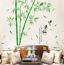 Green Bamboo Wall Stickers Vinyl Diy Plants Pattern Home Decor Sticker For Living Room Study Room Decoration Fairy Wall Decals Fairy Wall Stickers From Shouya2018 14 47 Dhgate Com