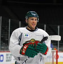 Zach Parise a few days after being high-sticked in the eye by Tom Wilson -  Imgur