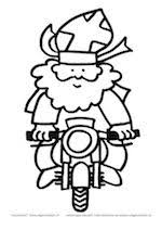 Sinterklaas Op De Motor Sinterklaas Knutselen Sinterklaas