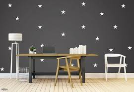 Star Wall Decals Star Wall Stickers Nursery Wall Decal Kids Etsy