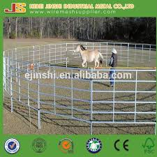5ft 12ft Cattle Fencing Panels Metal Fence 6 Bars Heavy Duty Corral Cattle Panel Galvanized Corral Panels Buy Corral Panel Used Corral Panels Galvanized Sheep Corral Panels Product On Alibaba Com