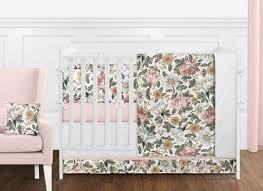 vintage fl boho baby girl nursery