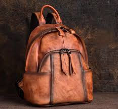 designer las small brown leather