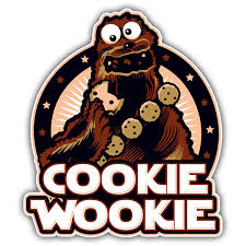 Sticker Cookie Wookie Muraldecal Com