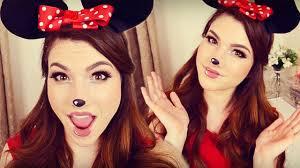 minnie mouse makeup hair diy