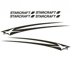 Starcraft Pop Up Rv Motorhome Graphics Trailer Camper Full Decals Set Kit Vinyl Ebay