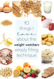 weight watchers simply filling technique