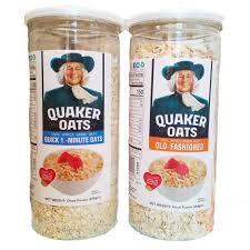 Yến mạch mỹ quaker oats hũ 454g cho bé ăn dặm, giảm cân, người bị ...