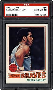 1977 Topps Adrian Dantley | PSA CardFacts®