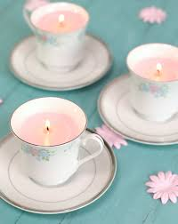 diy tea cup candles the craft patch