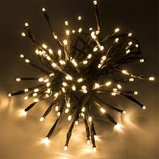 branches string lights 100 led bulbs