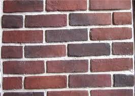anti water outdoor fake brick wall