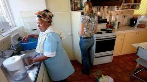 Nueve de cada diez trabajadores domésticos en el mundo, excluidos ...