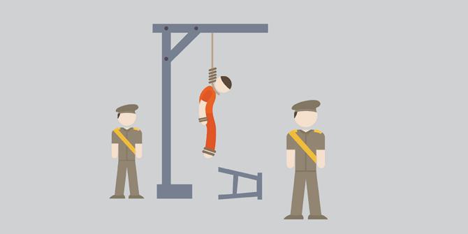 Ngeri! Hukuman Mati Ini Sadis, Meski Ada Yang Sudah Tidak Dipakai Lagi Sekarang