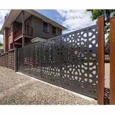 villa metal decorative garden fencing