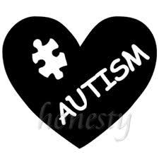 2pcs 13 7 11 6cm Cozy Autism Heart Puzzle Piece Window Home Car Sticker Black Vinyl Decal Stickers Wish