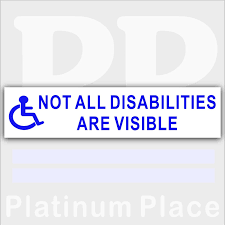 Wheelchair Access Sticker Disability Disabled Logo Handicapped 200mm Sign Archives Midweek Com