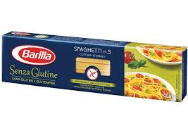barilla gluten free spaghetti 5 400g