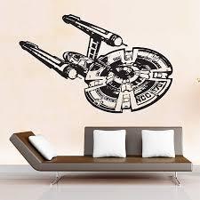 Star Trek Enterprise Ncc 1701 Spaceship Vinyl Wall Art Decal