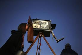 Wooden box camera artist - The Boston Globe