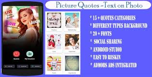 photo quote creator text on photo editor by mpu apps codecanyon