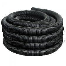 6 inch x 10 foot flexdrain corrugated pipe