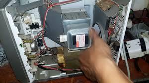 Sữa lò vi sóng cơ sharp không nóng(repair microwave not heating ...