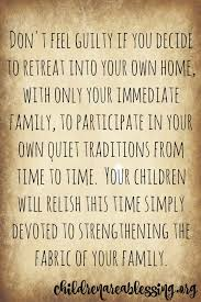 creating meaningful family traditions in your home part what to