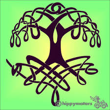 Celtic Knot Work Tree Of Life Decal Made From High Quality Vinyl