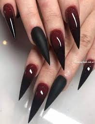black nail art design ideas 11 12 2019