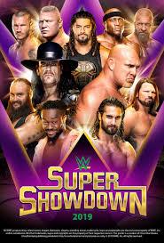 WWE Super ShowDown 2019 Poster by Chirantha on DeviantArt