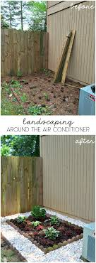Landscaping Around The Air Conditioning Unit