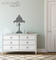 Table Lamp Wall Decal