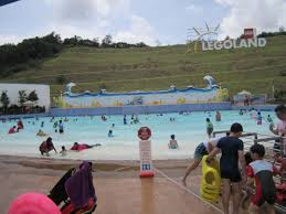 review legoland msia water park