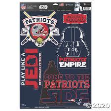 Nfl New England Patriots Star Wars Decals Oriental Trading