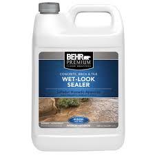 behr premium 1 gal wet look sealer