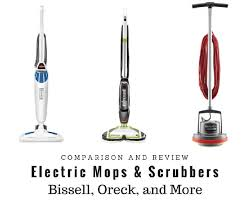 best electric mops and scrubbers