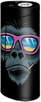 Amazon Com Skin Decal Vinyl Wrap For Smok Priv V8 60w Vape Skins Stickers Cover Chimp Toothpick Sunglasses