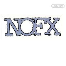 Nofx Blue Logo Sticker Logo Sticker Blue Logo Logos