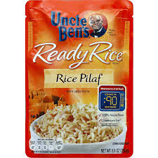 uncle bens ready rice pouch rice pilaf