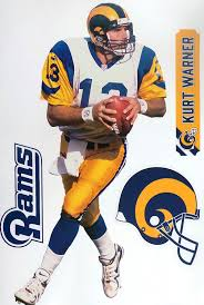 Amazon Com Kurt Warner Fathead Graphic St Louis Rams Logo Set Official Nfl Vinyl Wall Graphics 17 Inch Arts Crafts Sewing